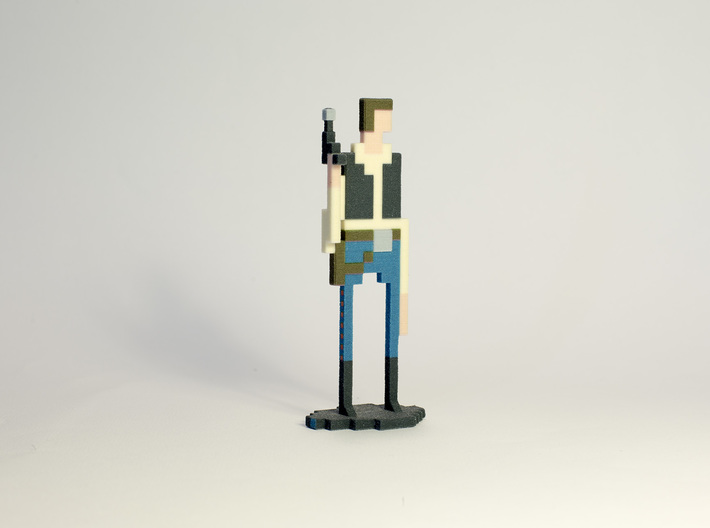 The Pixel Scoundrel 3d printed Picture by louis.dumetz@gmail.com