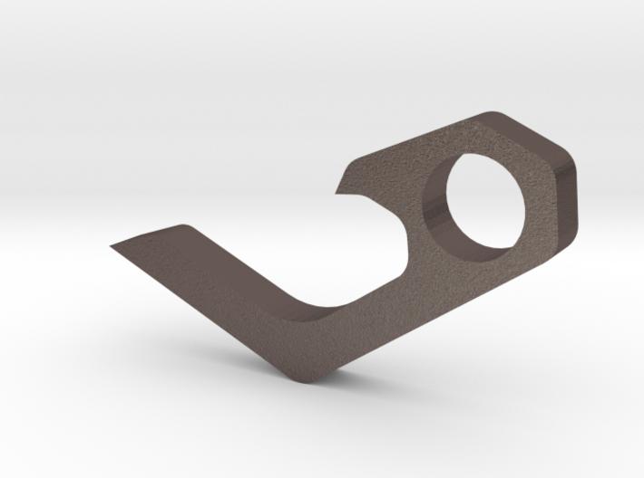 Micro keychain bottle opener 3d printed