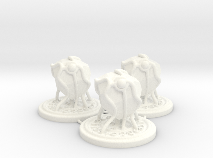Summoned Stone tokens (3 pcs) 3d printed