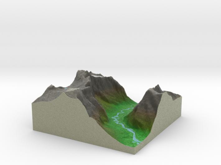 Terrafab generated model Tue Apr 14 2015 15:30:46 3d printed
