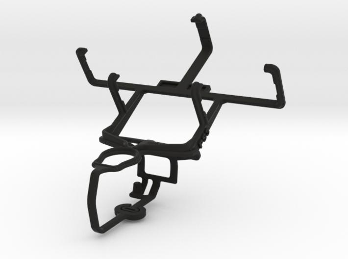 PS3 controller & LG KS10 - Front Rider 3d printed