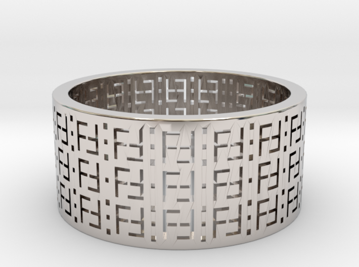 FREEFUTURE F5-2 RING, US size 13.5, d=22.5mm (size 3d printed