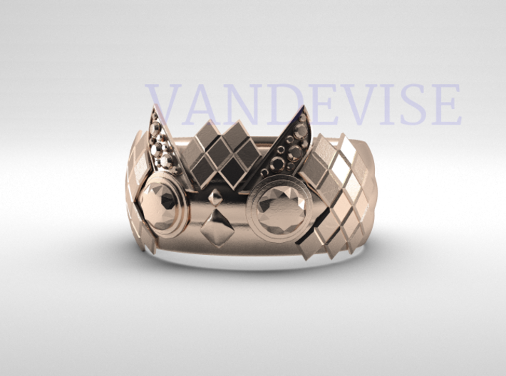 Owl Ring 3d printed