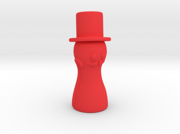 Pawn gentleman 3d printed