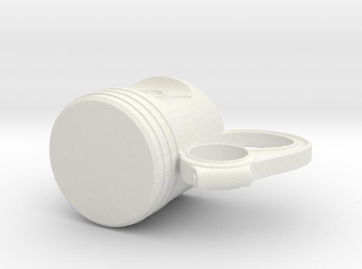 Piston Tea Mug 3d printed