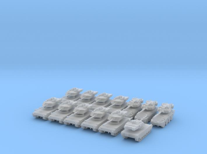 6mm Modern Italian Armoured Company 3d printed