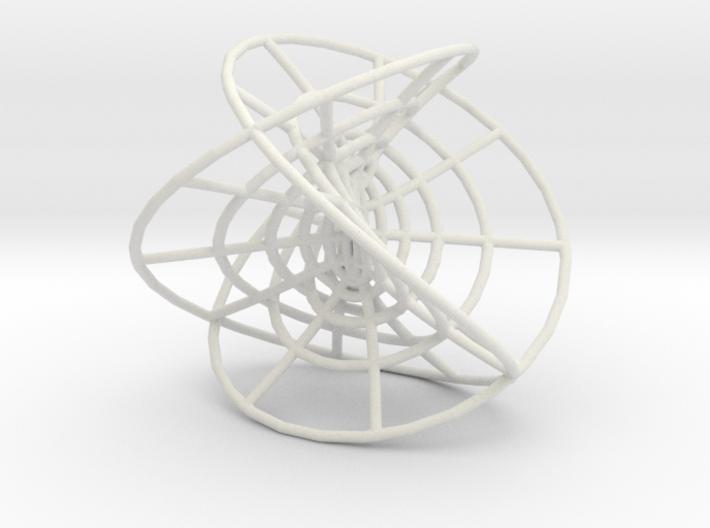 Henneberg Surface Mesh 3d printed