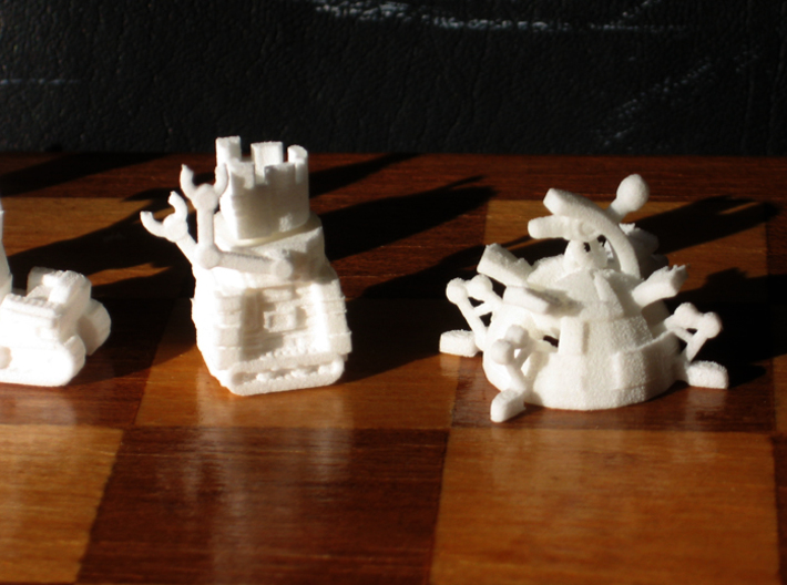 Robo Chess 3d printed