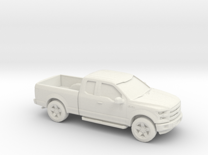 1/64 2015 Ford F150 Ext. Cab 3d printed
