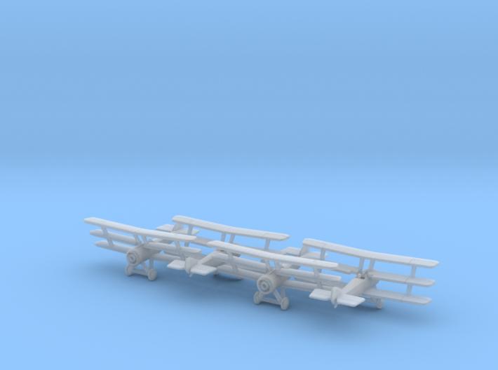 1/350 Sopwith Triplane 3d printed