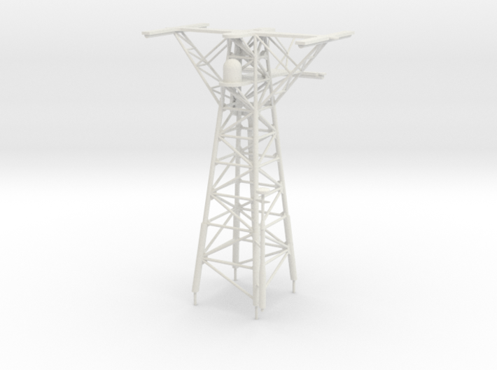 1/72 scale Perry Mast #3 - Main mast 3d printed