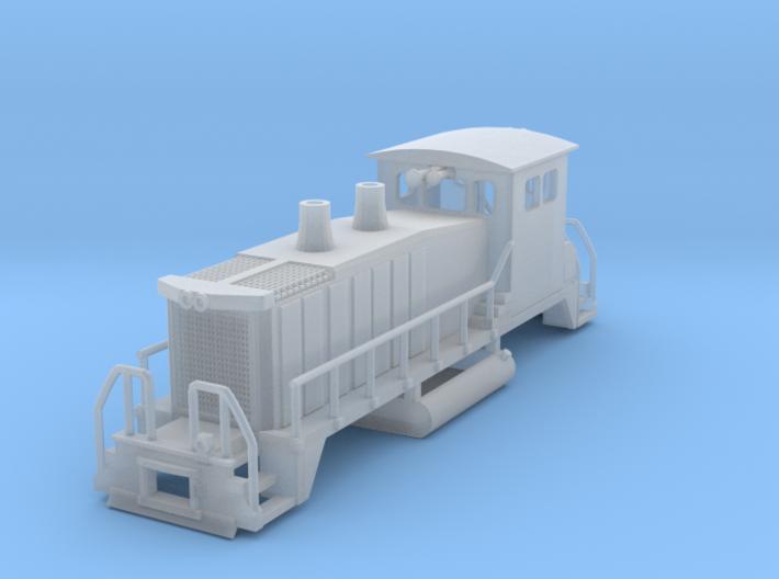 EMD SW 1500 Engine 3d printed