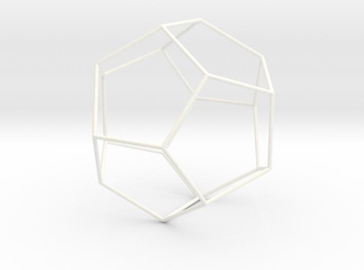 Duodecedron Planus Vacuus 3d printed