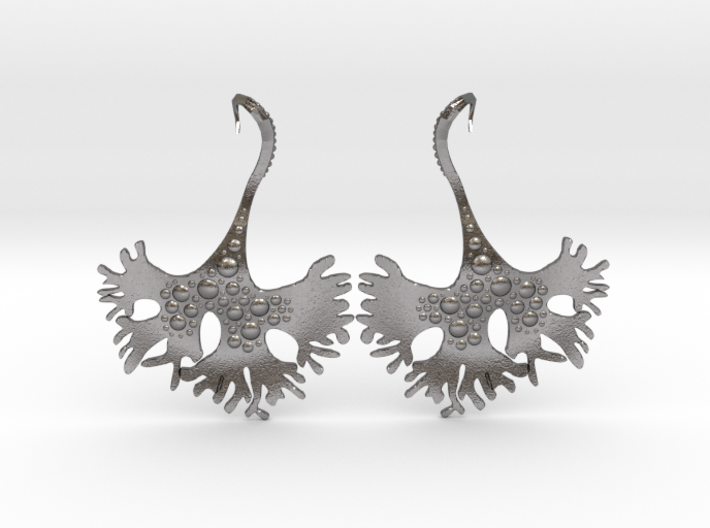IrishMoss Earrings 3d printed