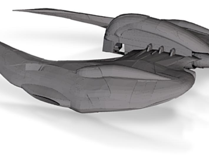 Cylon Raider 3d printed