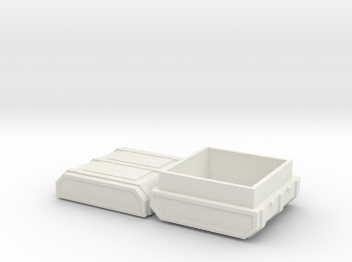FTM Square Ammo 3d printed