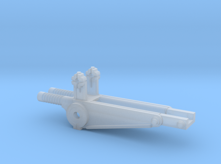 1:25 Anti Aircraft Mount for DShK part B 3d printed