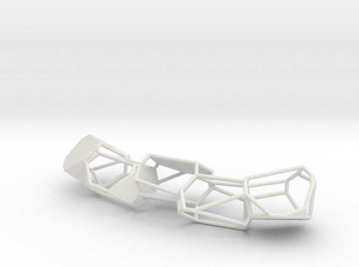 Voronoi Pendent 3d printed