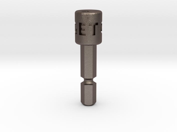 Coffee Grinder Bit for Drill Driver CDR-L 3d printed