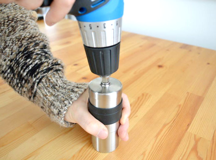 Coffee Grinder Bit For Drill Driver CDP-RE 3d printed Using Image