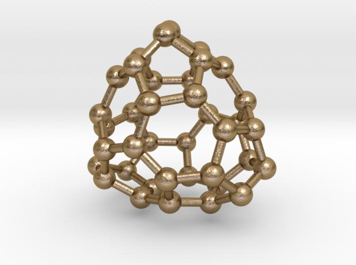0090 Fullerene c38-9 d3 3d printed