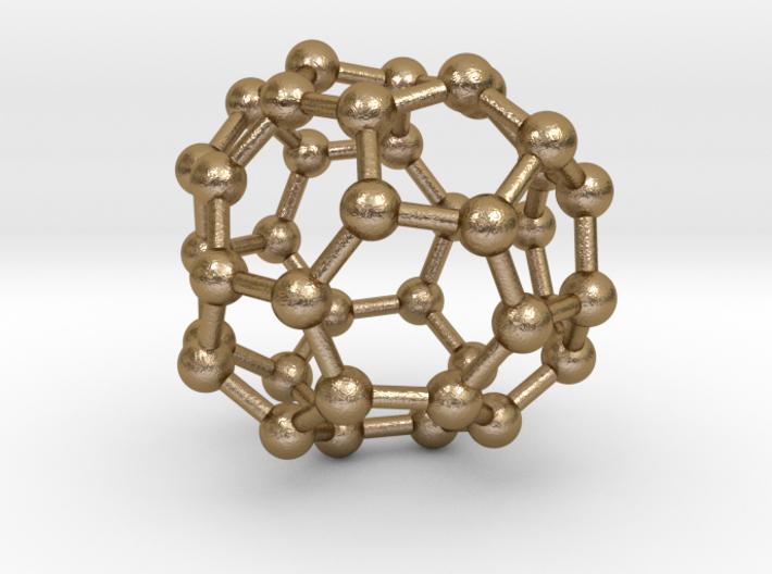 0094 Fullerene c38-13 c2 3d printed