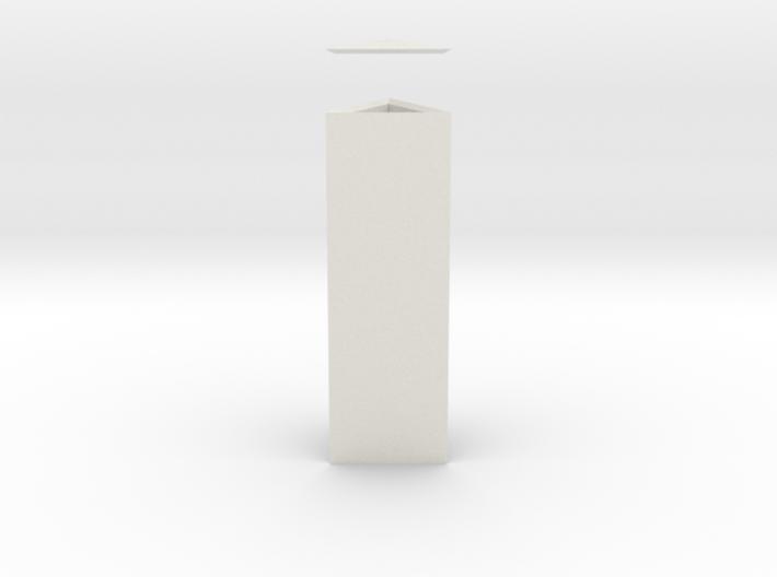 Columna Laterata Triangula Solida 3d printed