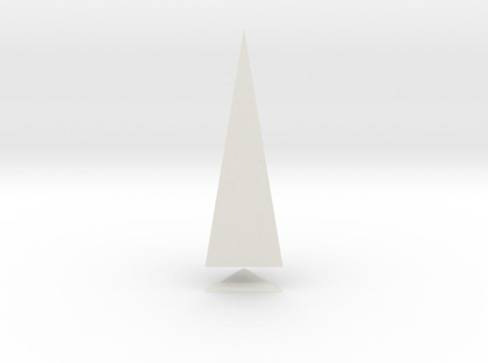Pyramis Laterata Triangula Solida 3d printed