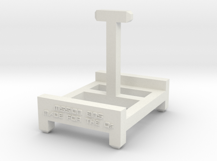Stand for the Qs 3d printed
