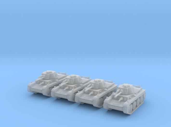 1/220 Panzer 38t tank (4) 3d printed