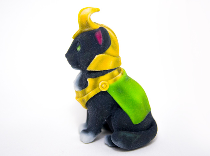 LoKitty The Sorcerer 3d printed