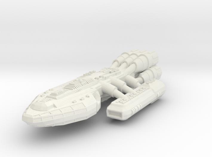 Battlestar 3d printed