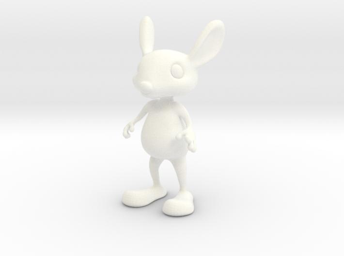 Tiny Bunny 3d printed Tiny Bunny figurine