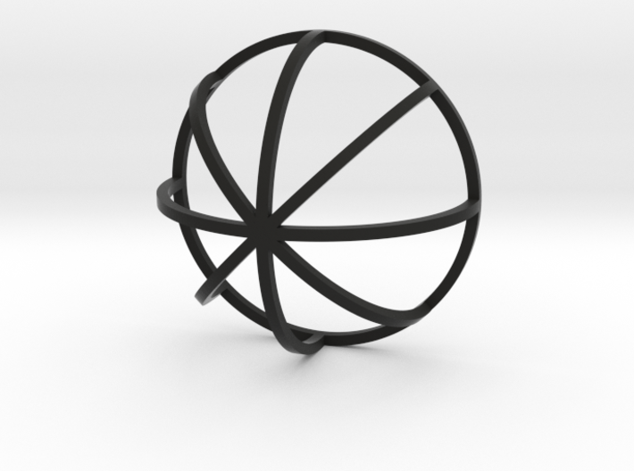Lined Dome 3d printed