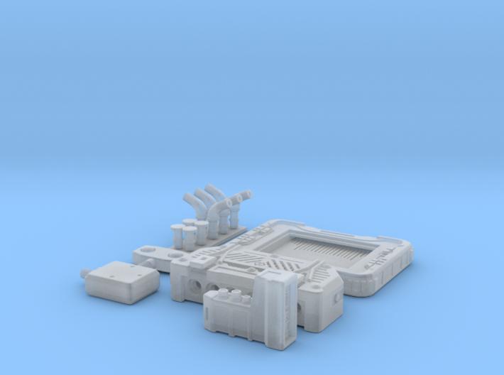 Tactical Computer System NoScreen 1/6 3d printed
