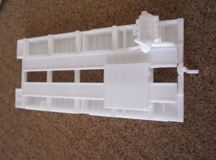 1/144 B-Ferry for Operation Sealion 3d printed