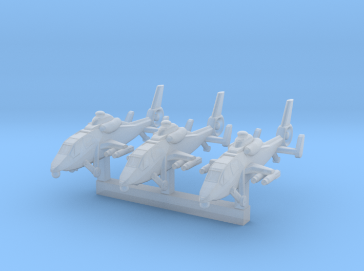 1/600 Chinese WZ 19 Scout Helicopter 3d printed