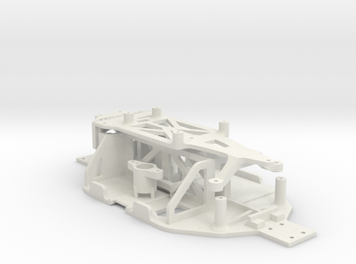Losi Micro 1/24 Chassis Ver. A 3d printed