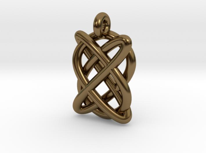 Lissajous figure 3d printed
