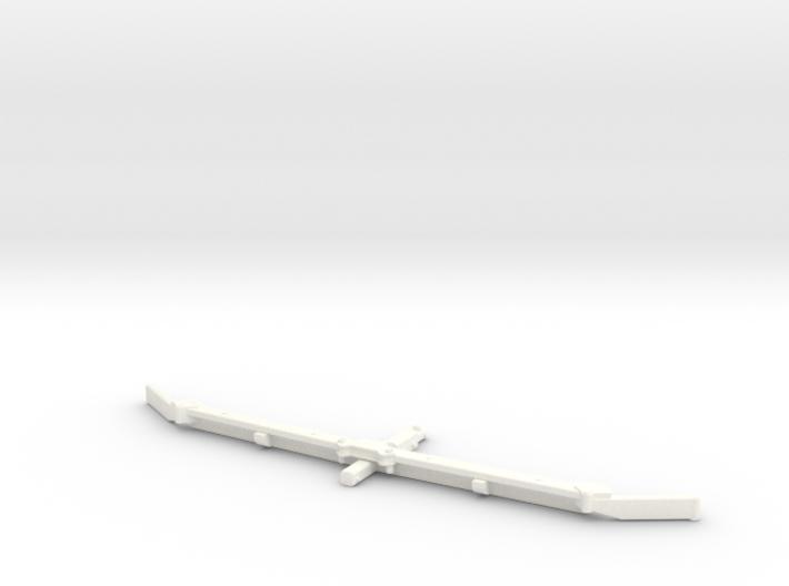 1/64 Alley scraper Blade 12' 3d printed