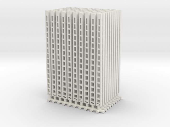 100 st. Oberleitungsmasten/bovenleidingmasten 3d printed