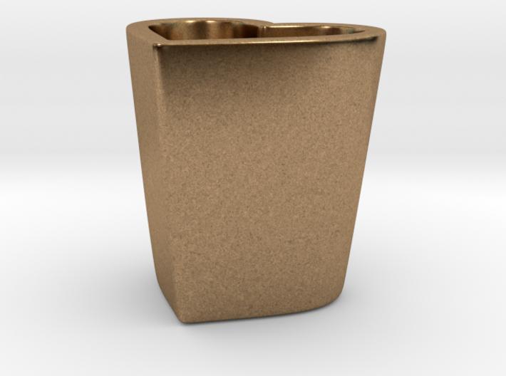Espresso Heart Cup 3d printed