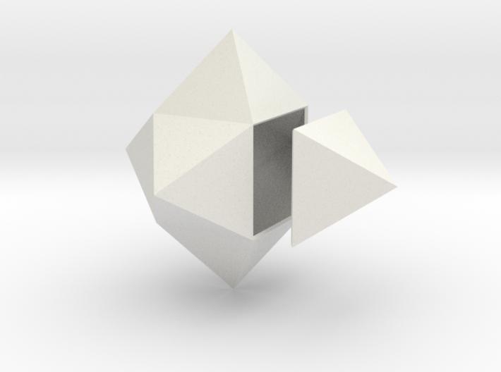 Exacedron Elevatus Solidus 3d printed