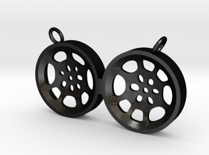 "Double Tenor ""void"" steelpan pendant, M 3d printed"