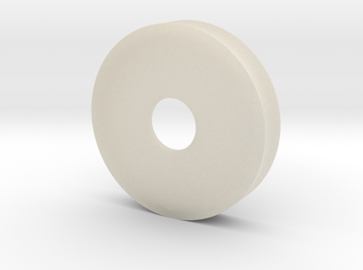 35 Mm Petri Dish With 10 Mm Hole non-transparent 3d printed