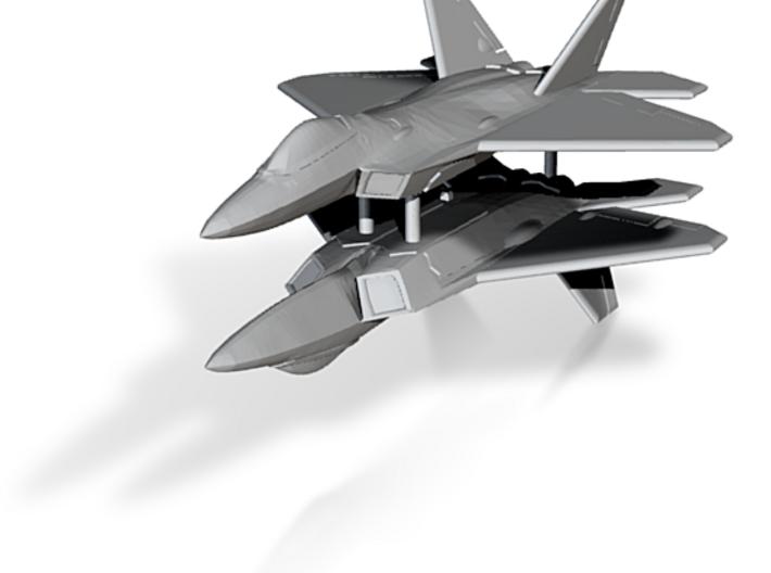 1/350 F-22A Raptor (x2) 3d printed