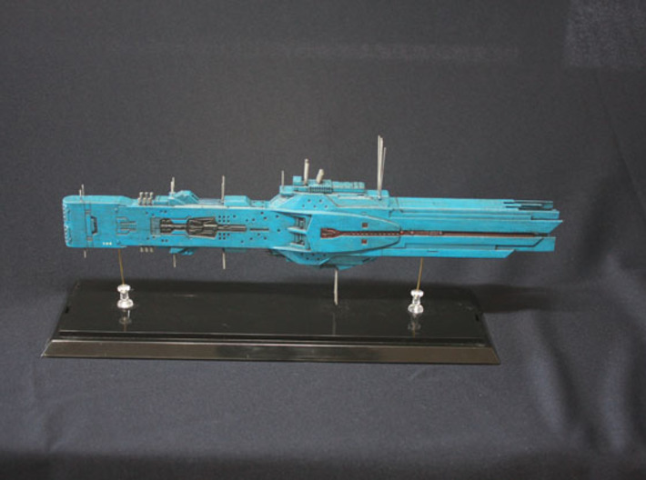 LoGH Alliance Hyperion 1:3000 (Part 1/2) 3d printed Photo