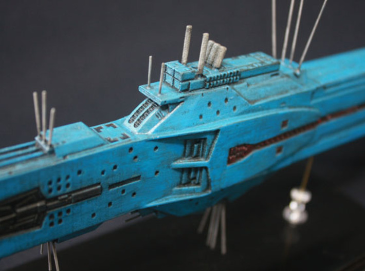 LoGH Alliance Hyperion 1:3000 (Part 2/2) 3d printed Photo