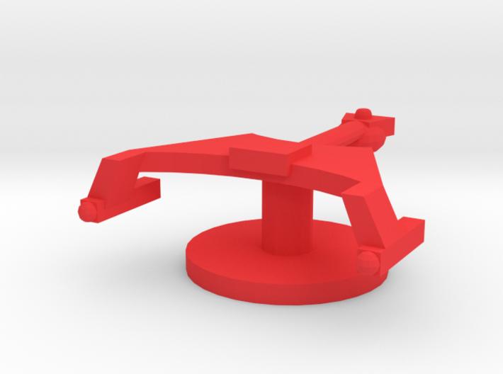 Starship K Token 3d printed