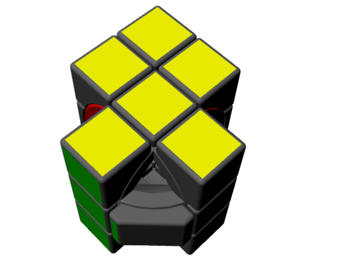 Smiley Cube 3d printed